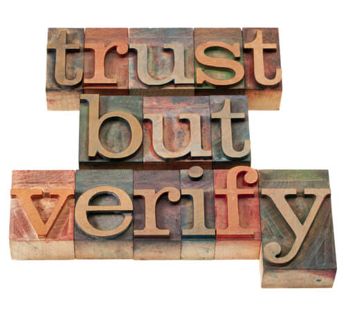 Information Governance Insights: Trust But Verify