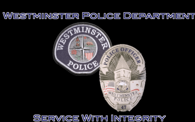 Westminster Police Department Offering $10,000 Bonuses for Qualifying Officers